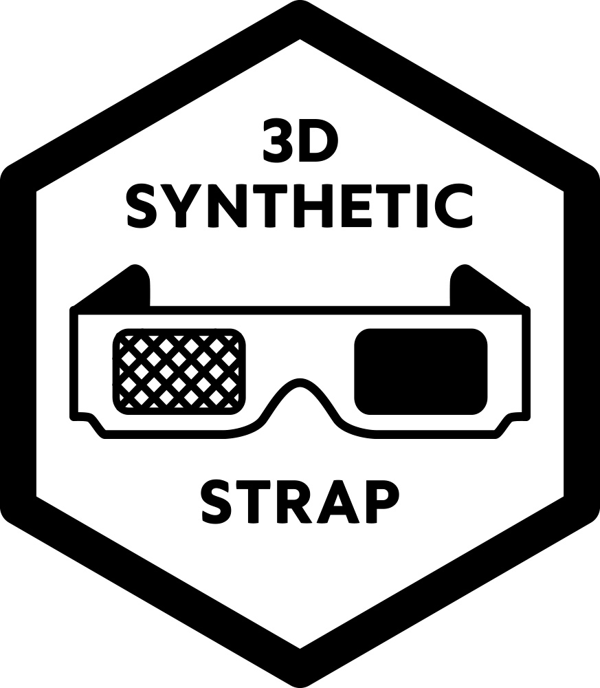 3D Synthetic Strap
