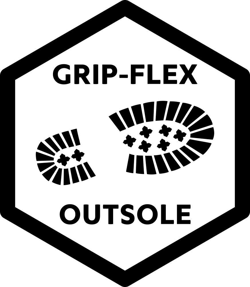 Grip-Flex Outsole